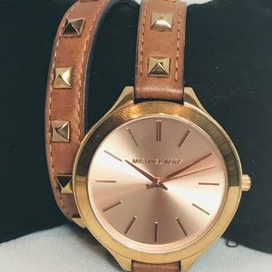 Michael Kors Runway Double Wrap Watch #40